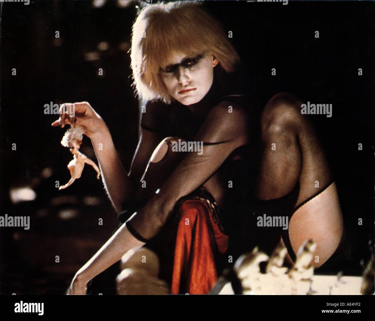 BLADE RUNNER Daryl Hannah the 1982 film - Stock Image