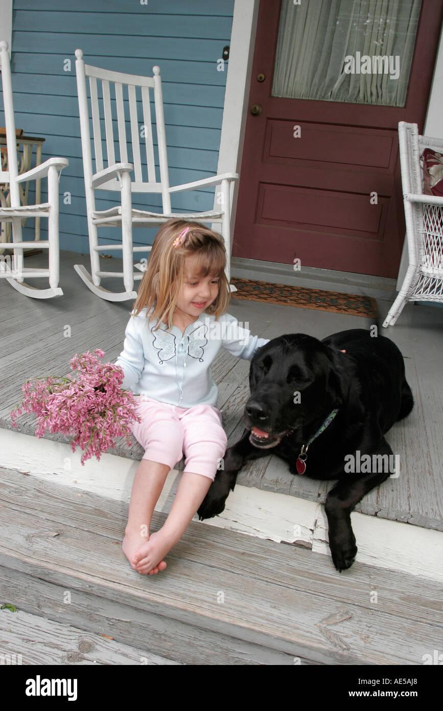 Miraculous Virginia Round Hill Girl Flowers Porch Rocking Chair Dog Frankydiablos Diy Chair Ideas Frankydiabloscom