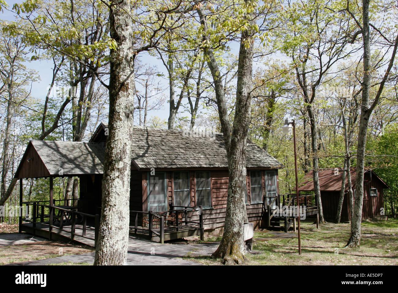 Shenandoah National Park Virginialewis Mountain Cabins
