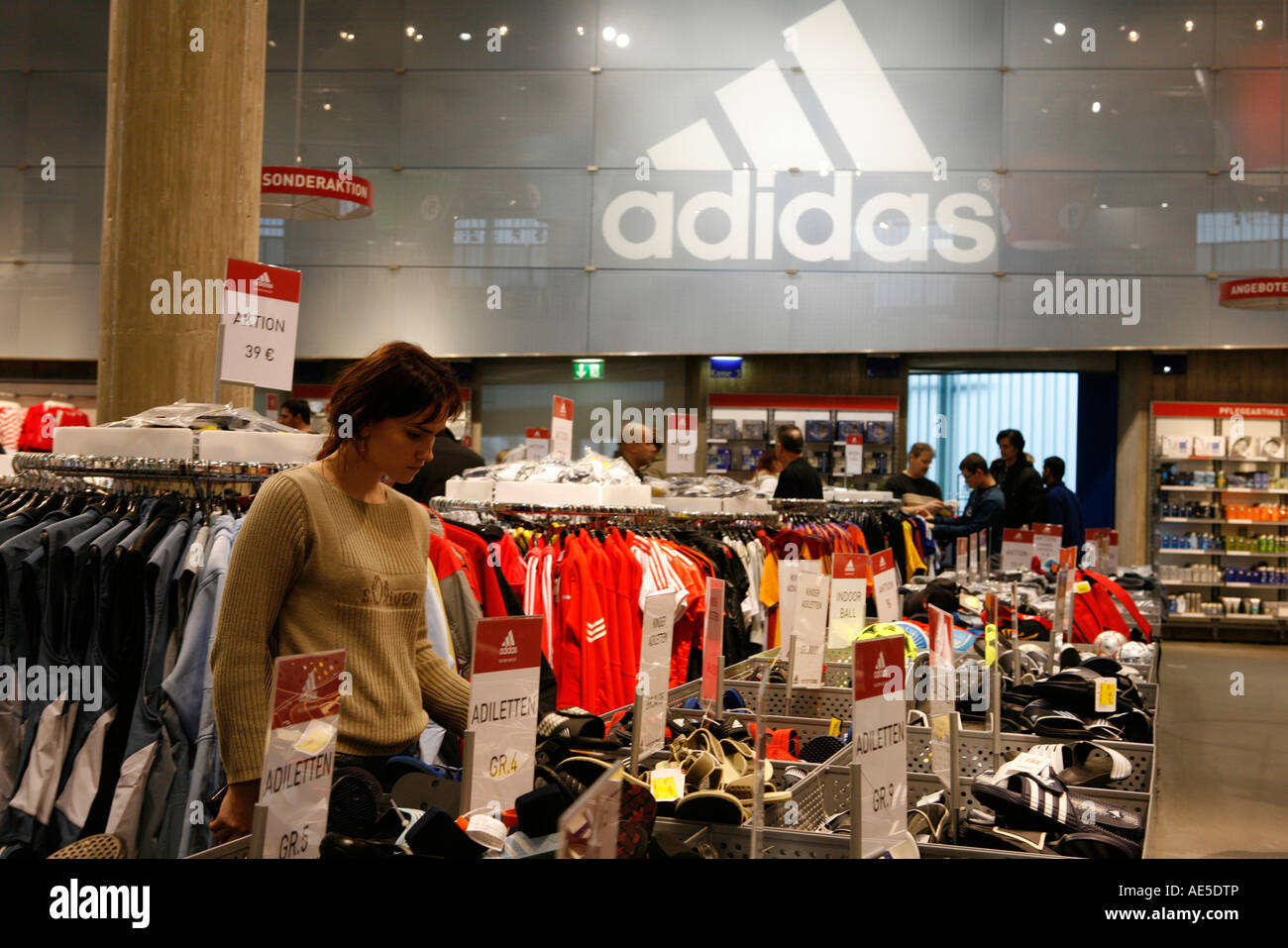 e311bca7 Adidas Headquarter and Factory Outlet in Herzogenaurach, Germany - Stock  Image