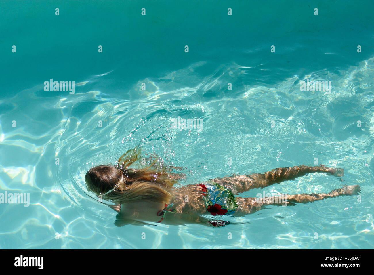 Swimming in a bikini — 9