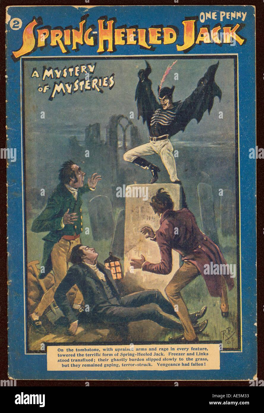 Spring Heel Jack Revenge of the Ripper #1 FN 1993 Stock Image