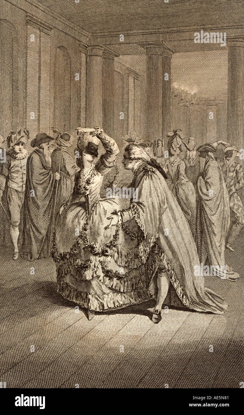 Masked Ball France 1780