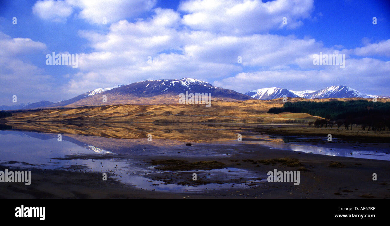Rannoch Moor Highlands West Scotland