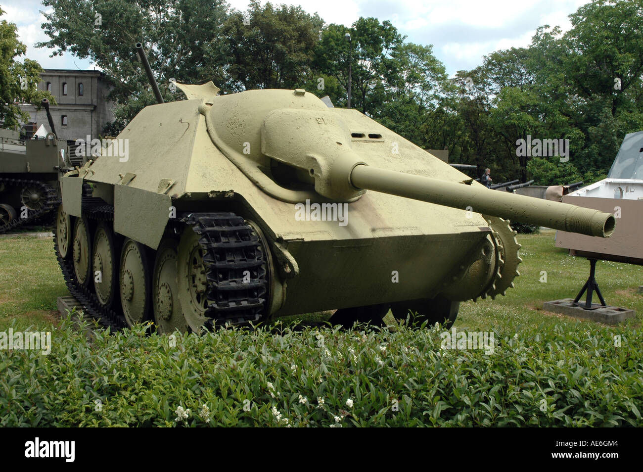 Self Propelled Cart >> German Jagdpanzer 38 hetzer self-propelled gun Stock Photo: 7762499 - Alamy