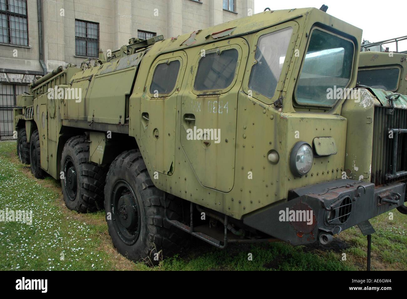 SCUD-B rocket on MAZ-534 truck