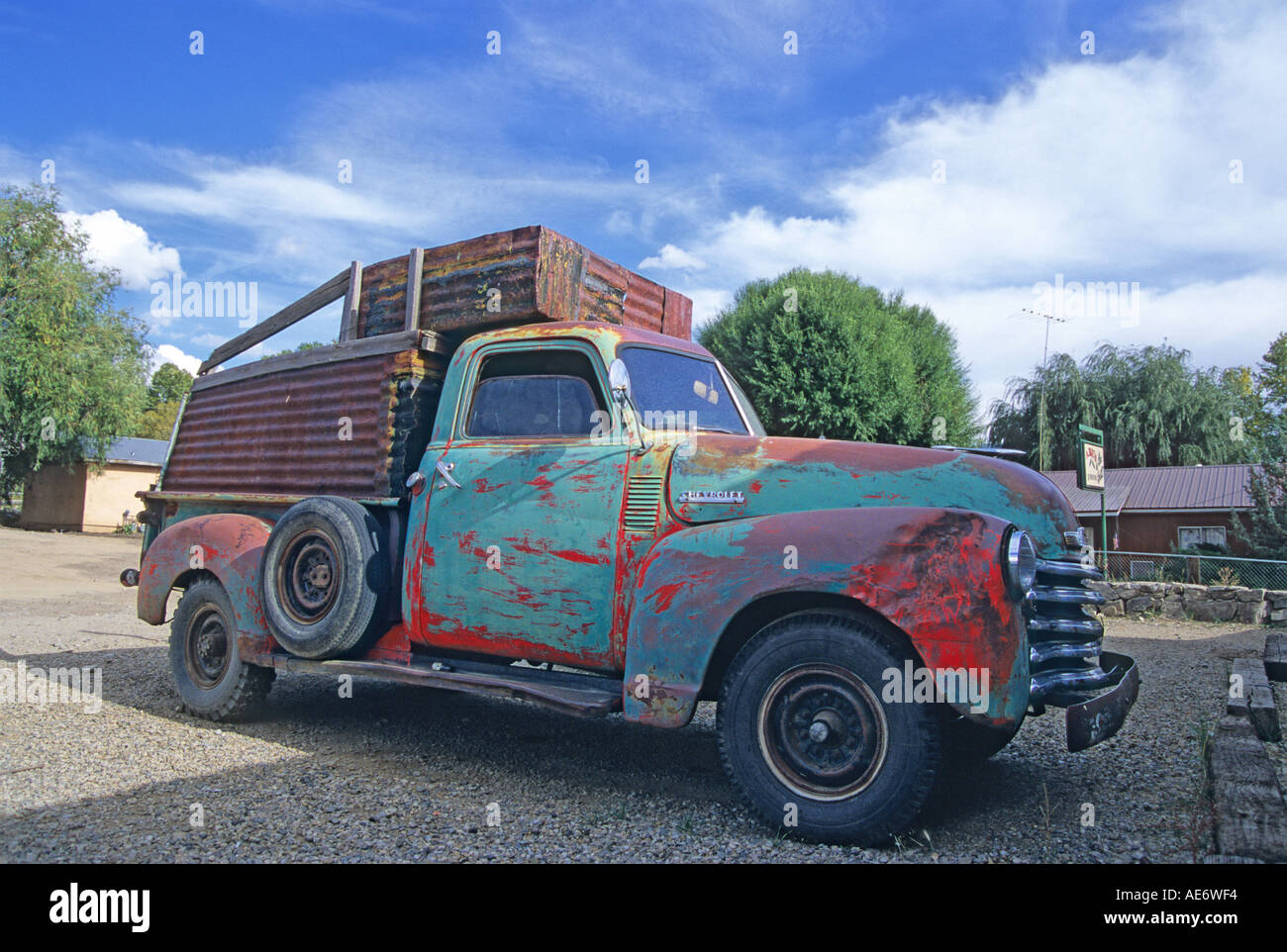 1949 Chevrolet Pickup Stock Photos Chevy Truck 3600 New Mexico Usa