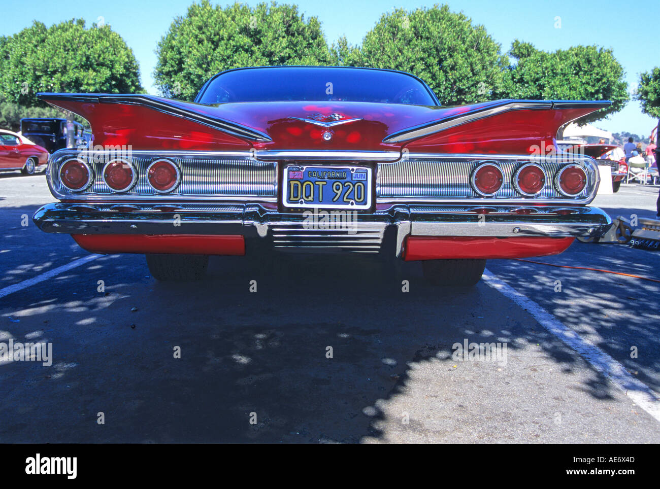 '^1960 Chevrolet Impala 2 door Coupe, tail fins, California' - Stock Image