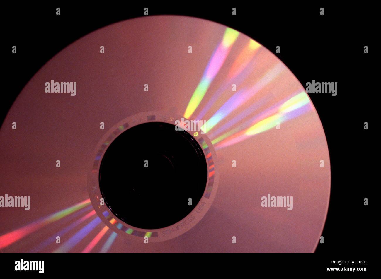 CD DVD 1 - Stock Image