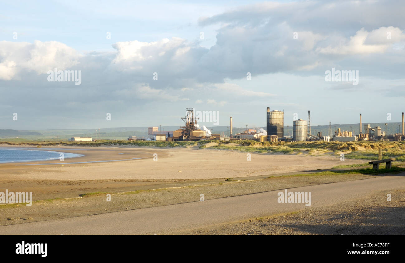 Corus steelworks - Stock Image