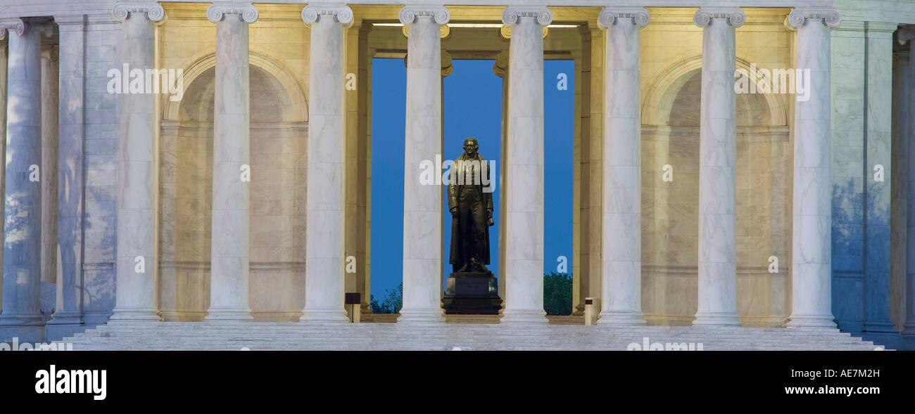 USA Washington DC Jefferson Memorial - Stock Image