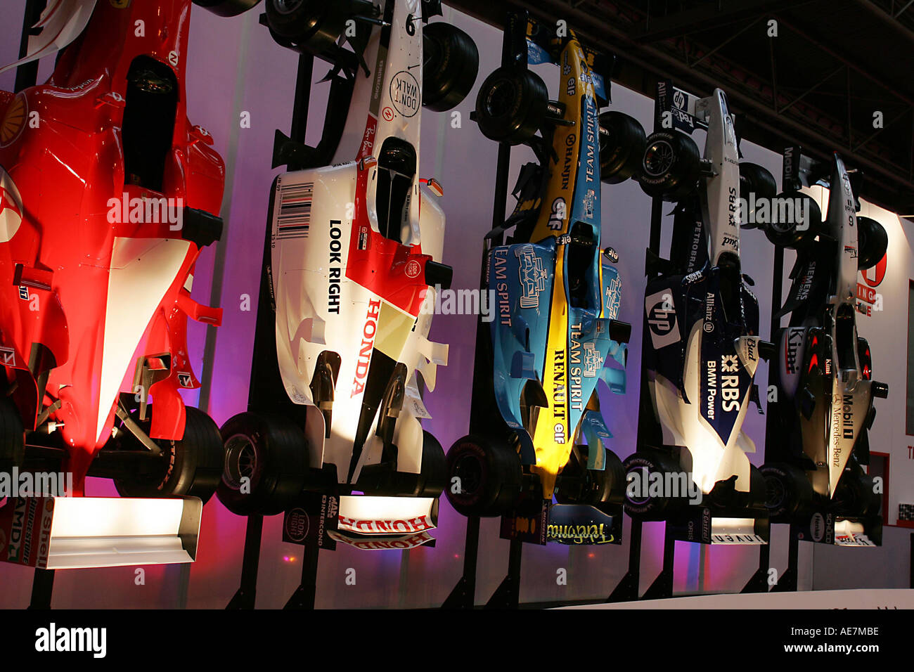 F1 Display Autosport International Show 13 16 01 05 Nec England