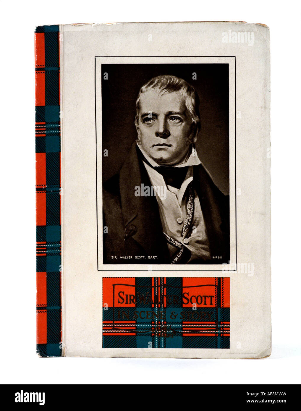 Sir Walter Scott Centenary Book 1932 EDITORIAL USE ONLY - Stock Image