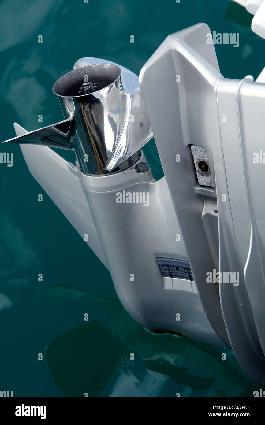 Honda Outboard Motor Stock Photos & Honda Outboard Motor Stock