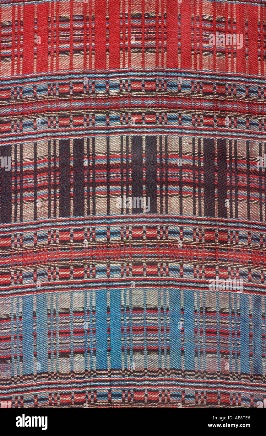 Woven fabric Morocco North Africa - Stock Image