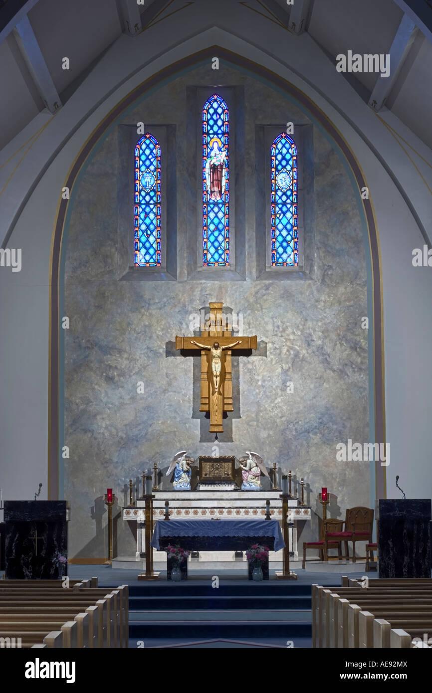 Altar Of St Teresa S Catholic Church In Lincoln Nebraska