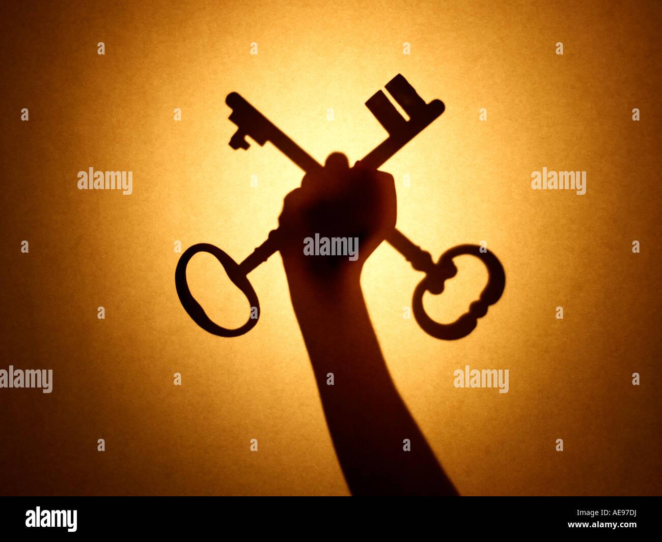 Keys Hand - Stock Image