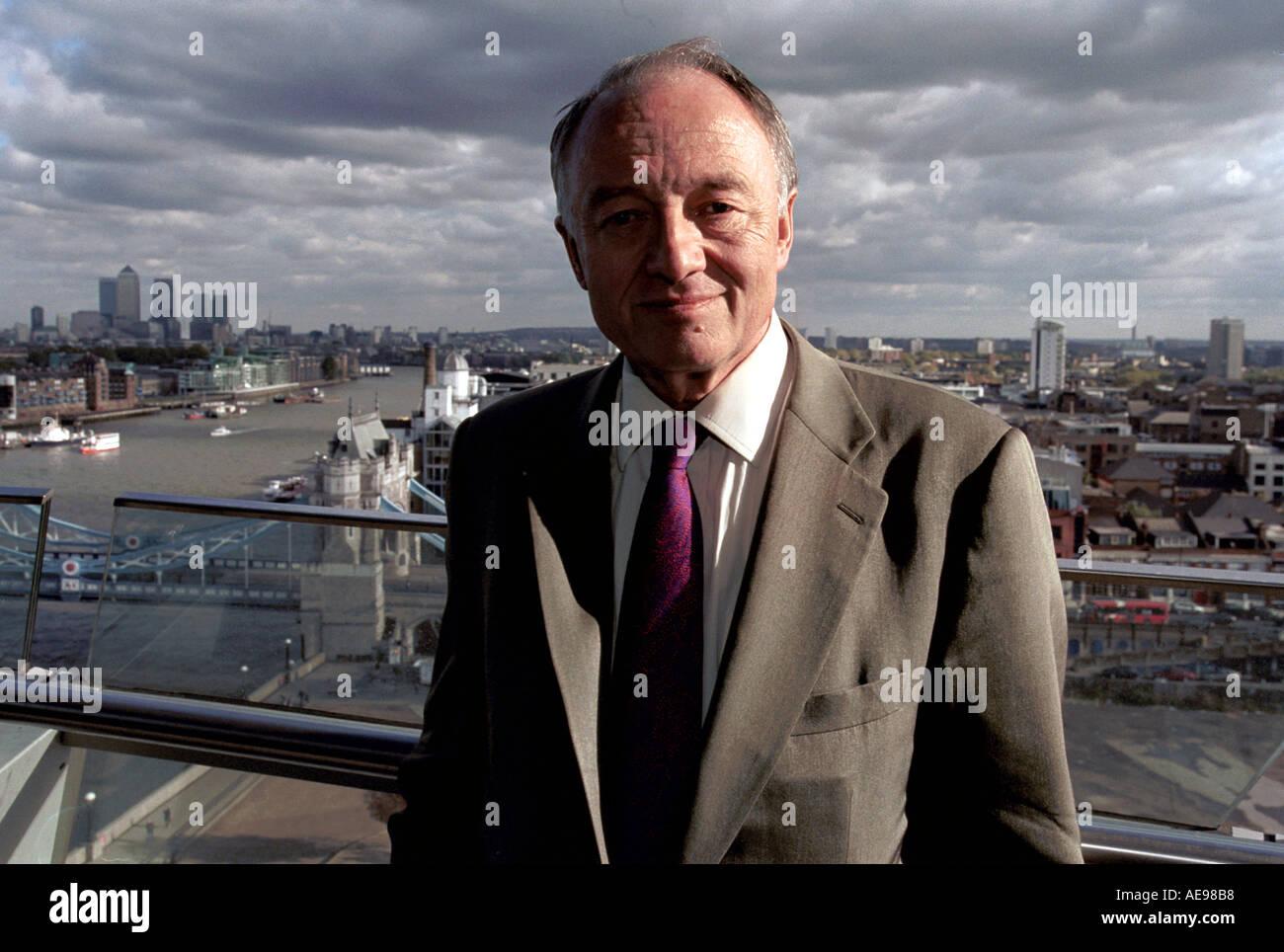 Mr Ken Livingstone Mayor of London - Stock Image