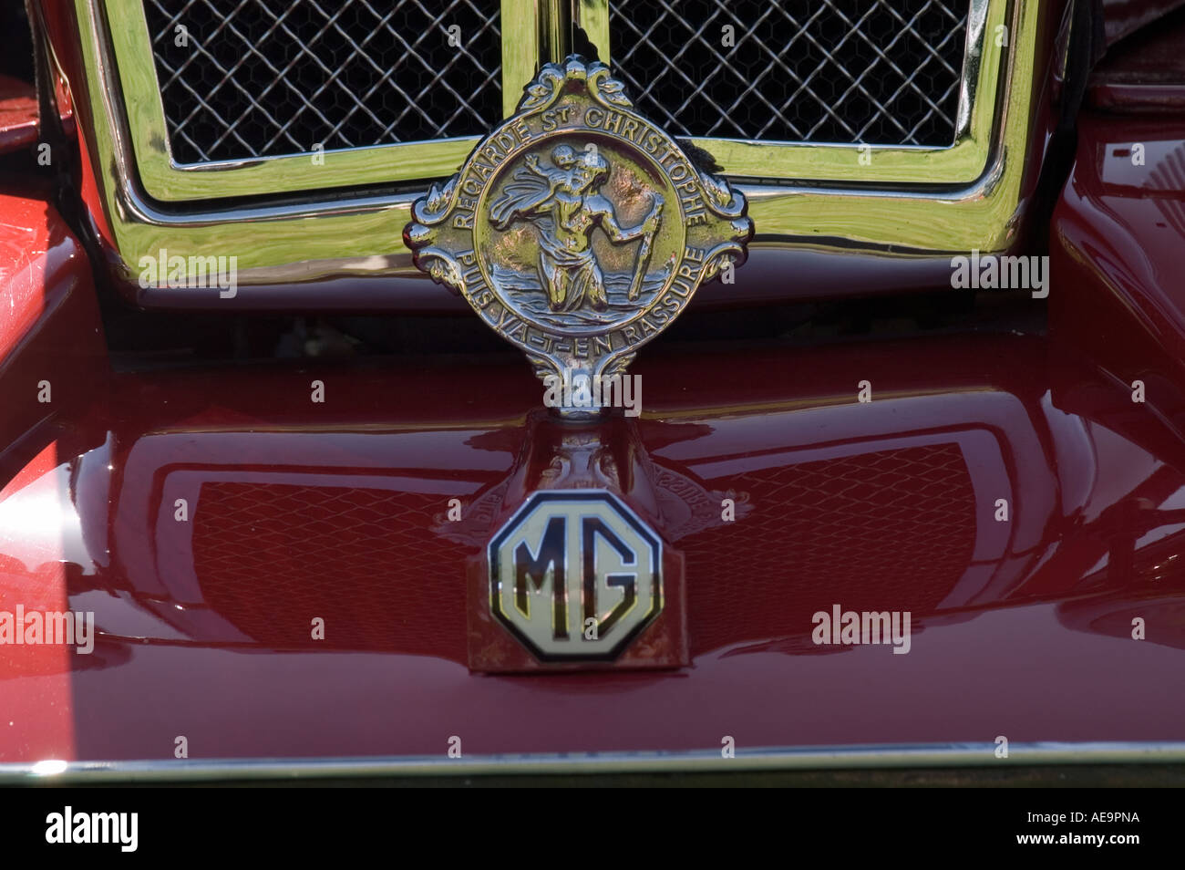 Badges & Mascots Vintage St Christopher Car Badge