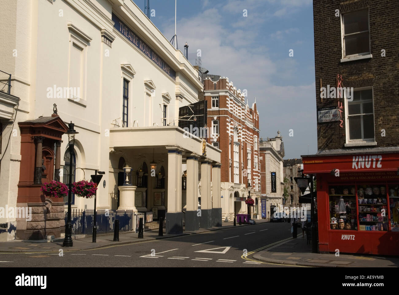 """""""Covent Garden"""" west central London England 'Theatre Royal' 'Drury lane' - Stock Image"""