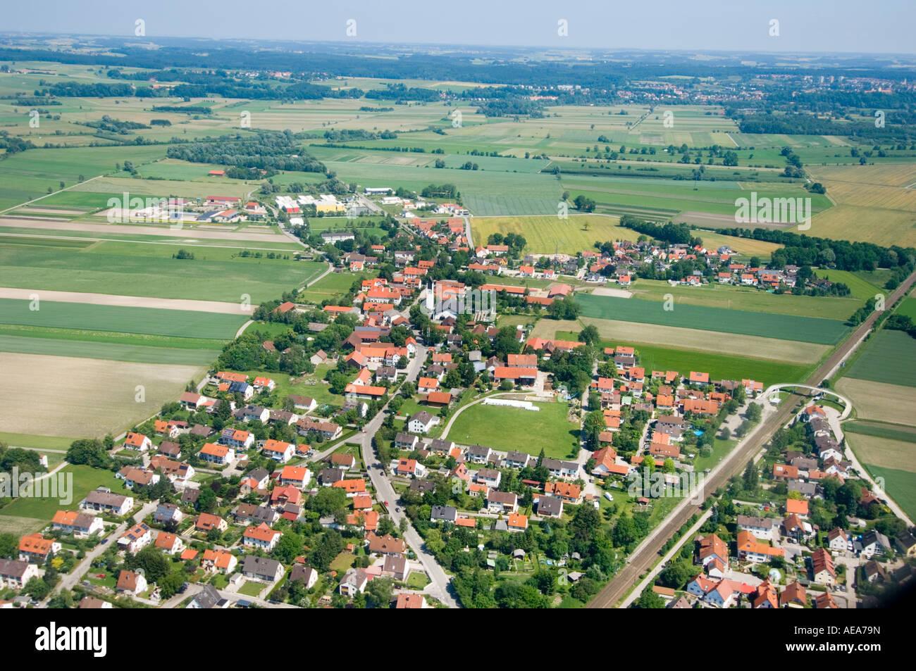 Bavarian Landscape In The Area Of Munic Bavaria Germany