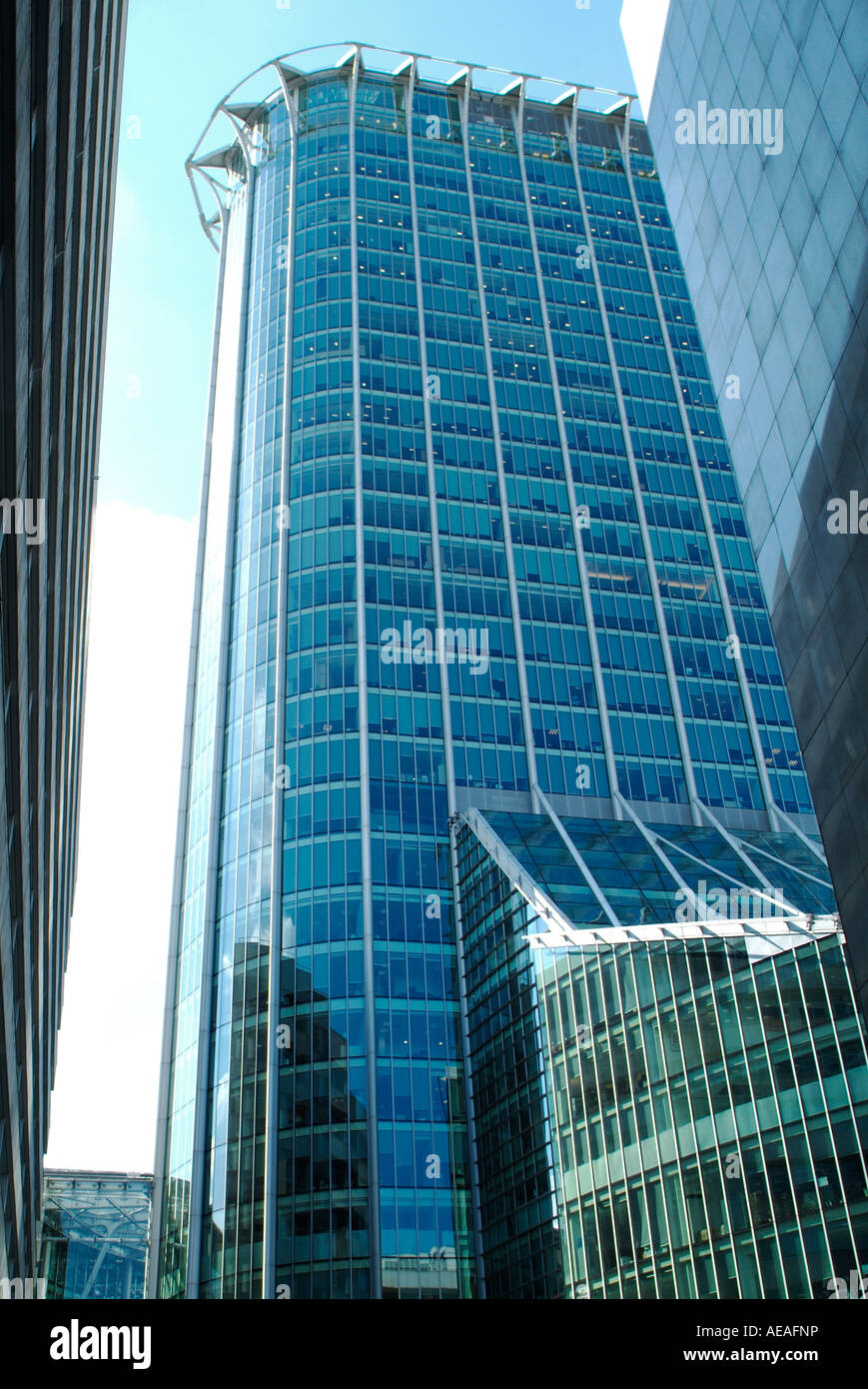Citypoint Finsbury Circus close to Moorgate station in the City of London - Stock Image