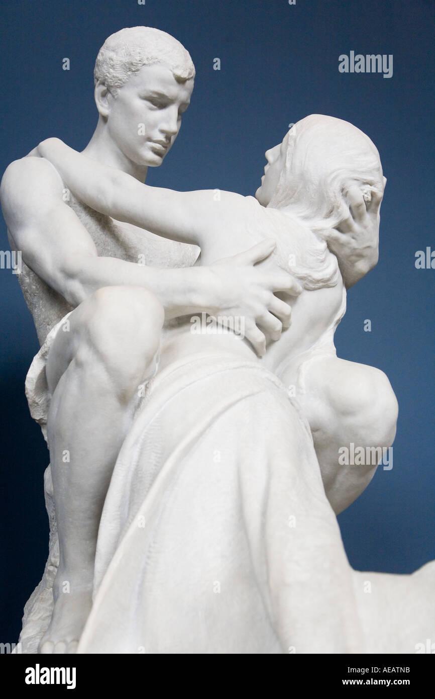 Ancient art sculptures - Stock Image