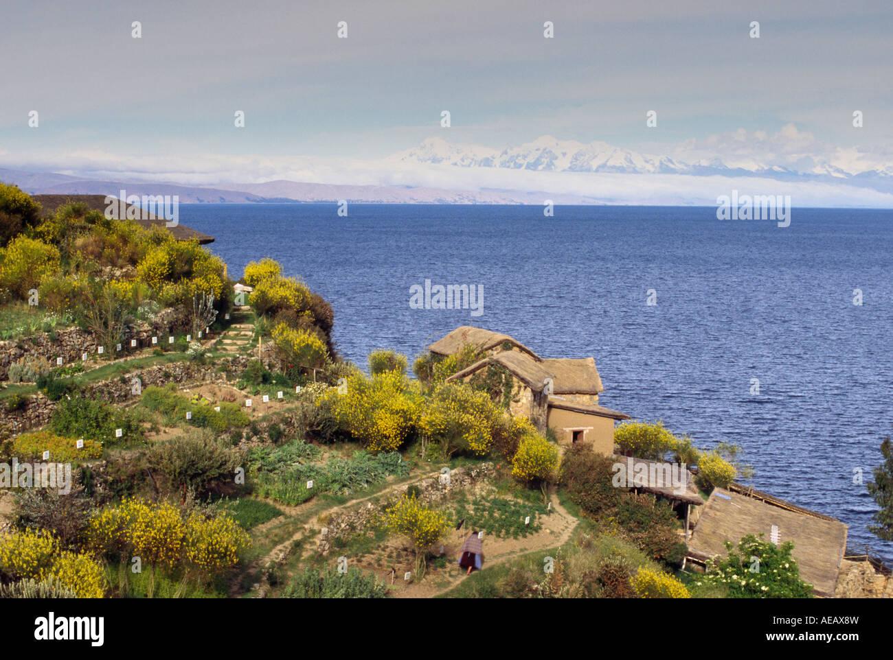 Yumani - Isla del Sol, Lake Titicaca, BOLIVIA - Stock Image
