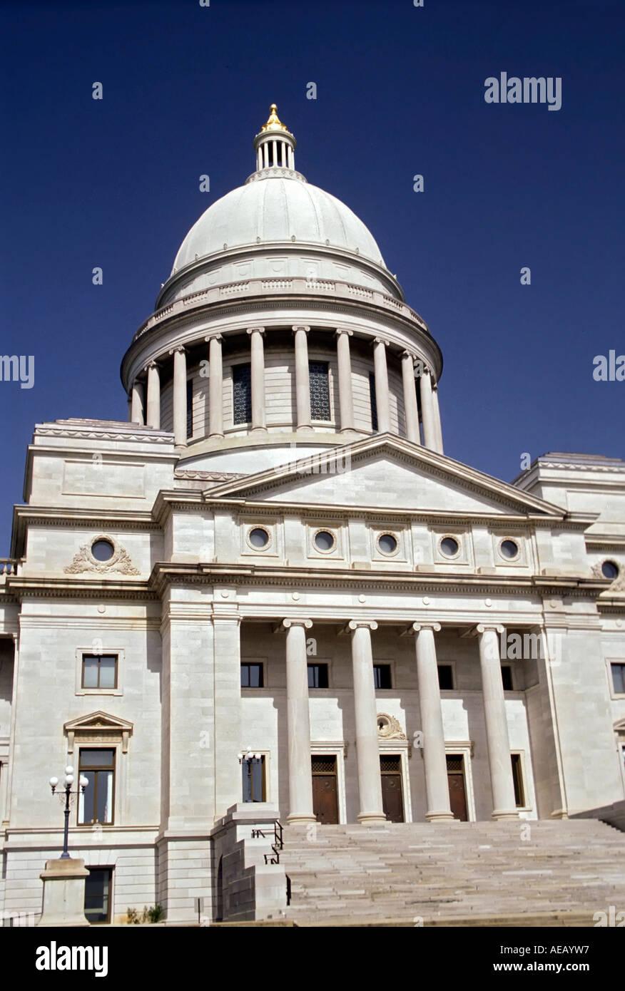 Arkansas state capitol dome stock photos arkansas state capitol the state capitol building at little rock arkansas stock image malvernweather Gallery