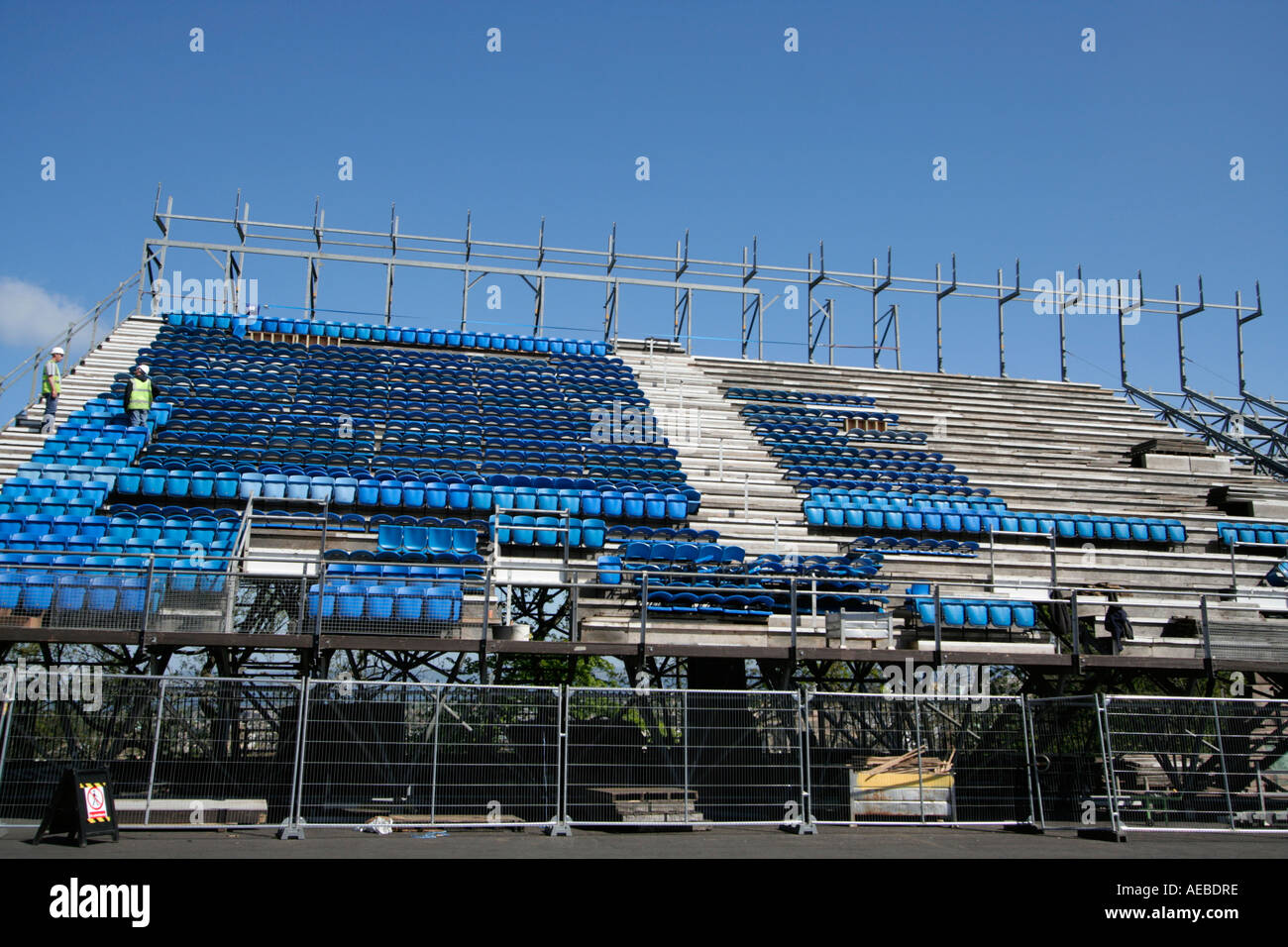 Seating For Spectators Stock Photos Amp Seating For