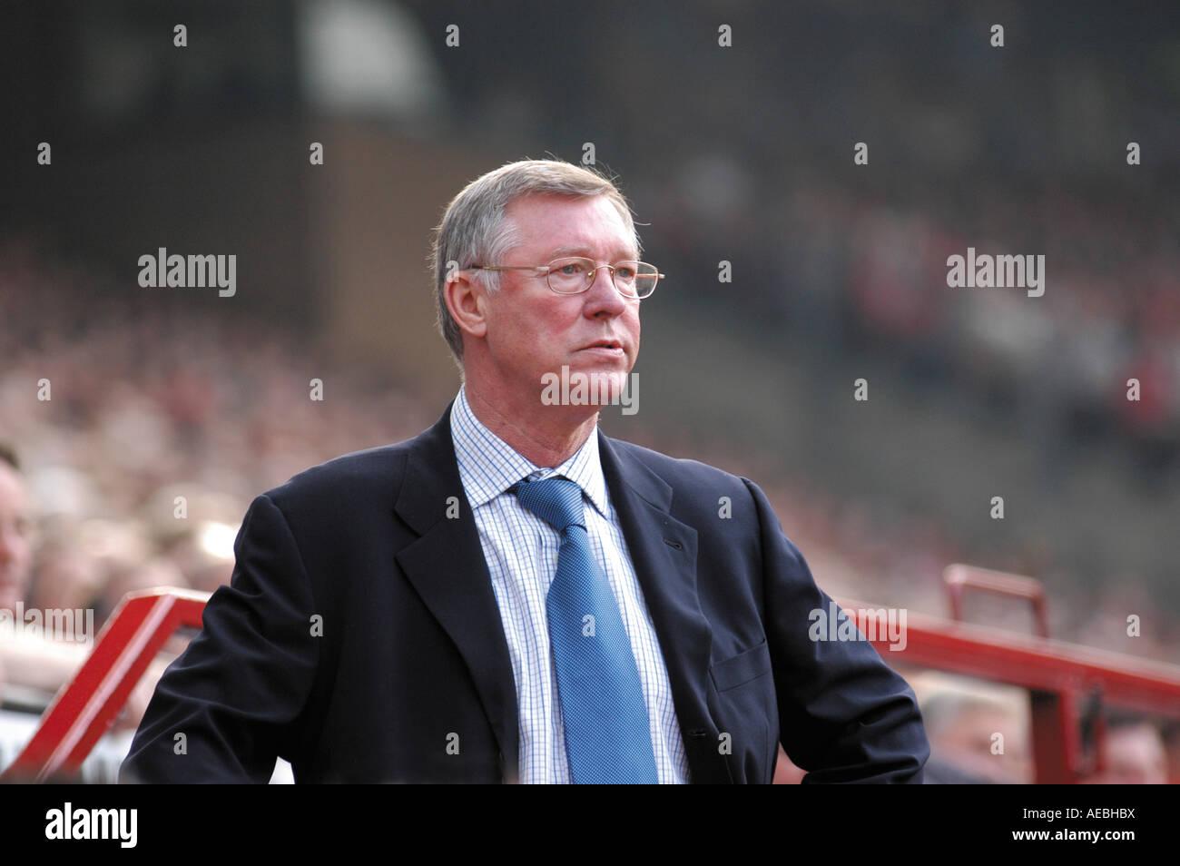 Sir Alex Ferguson - Stock Image