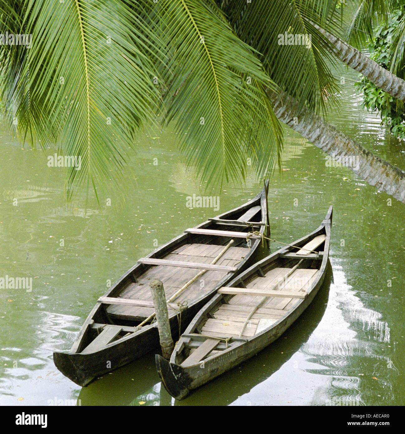Ashtamudi Lake: Alappuzha Back Waters Stock Photos & Alappuzha Back Waters