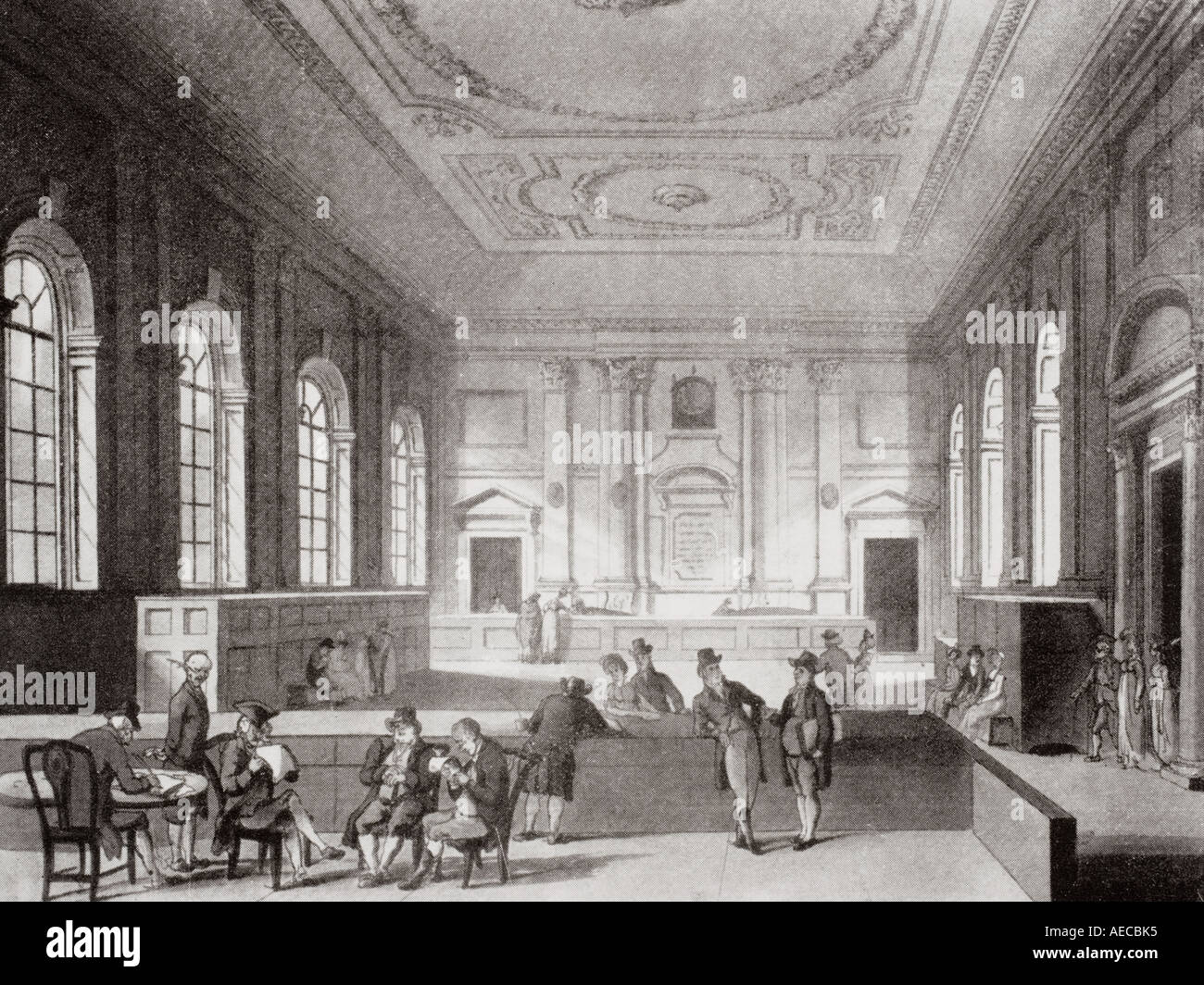The South Sea House Threadneedle Street London - Stock Image