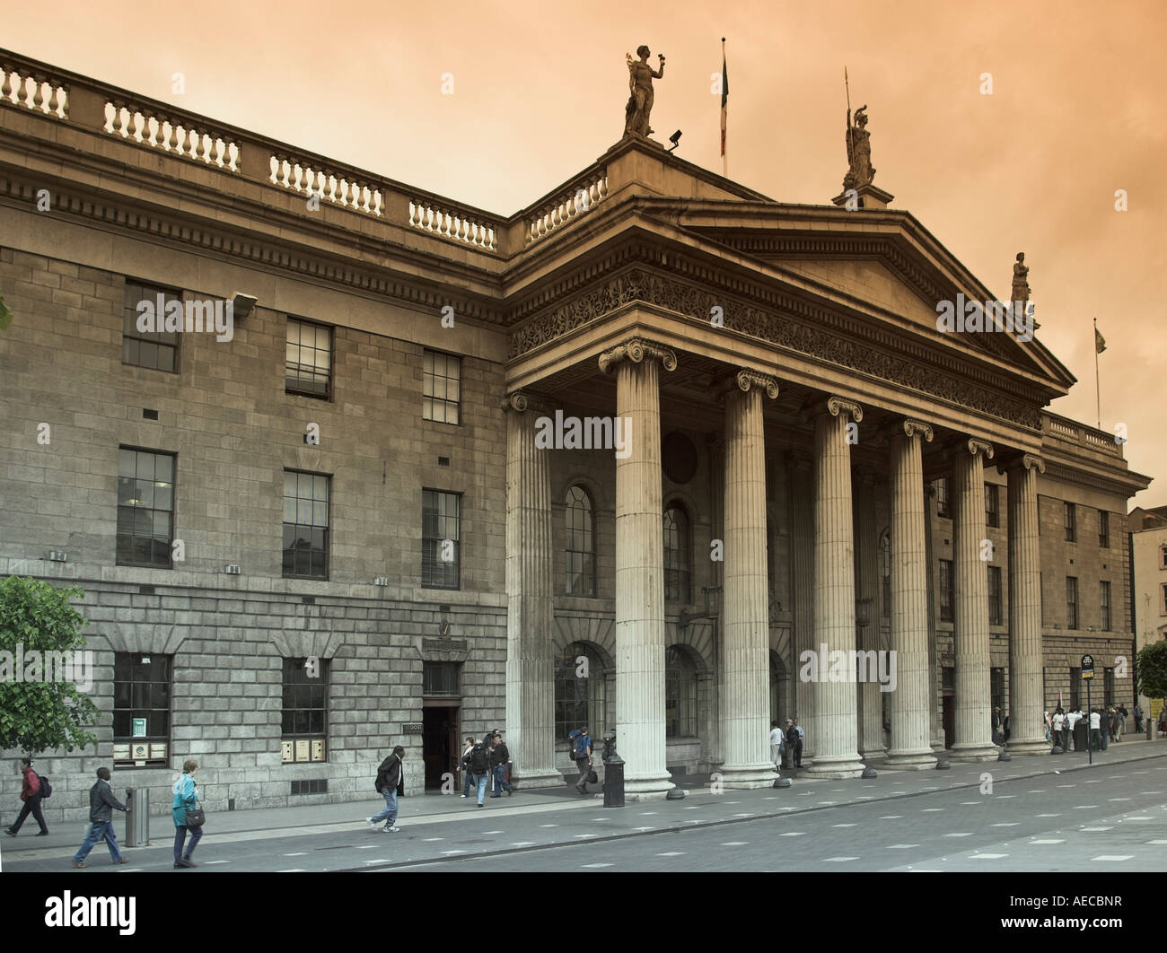 Dublin General Post Office - Stock Image