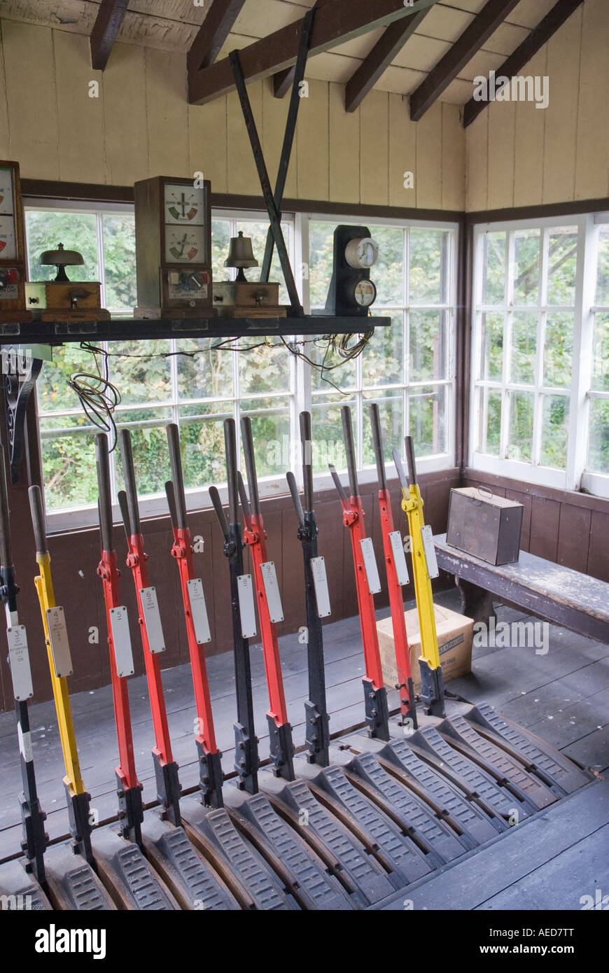 Signal Box - Stock Image