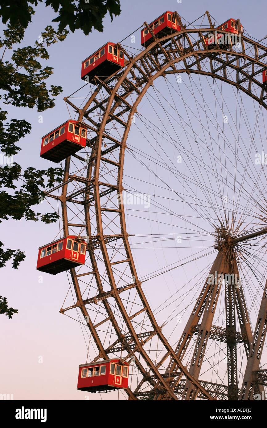 Riesenrad, Vienna, Austria - Stock Image