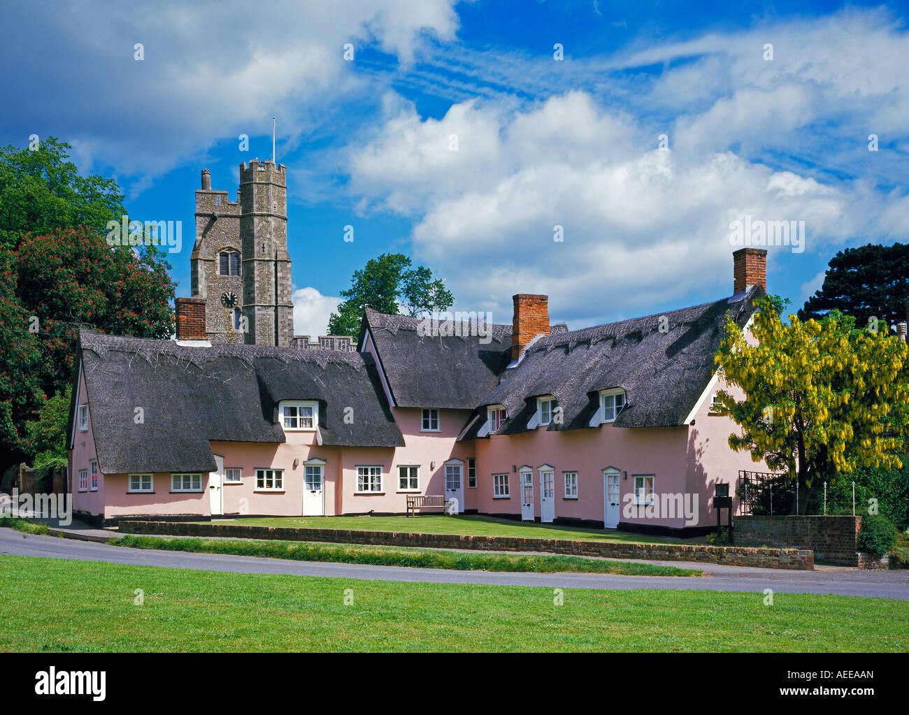 Cavendish, Suffolk, England, UK - Stock Image
