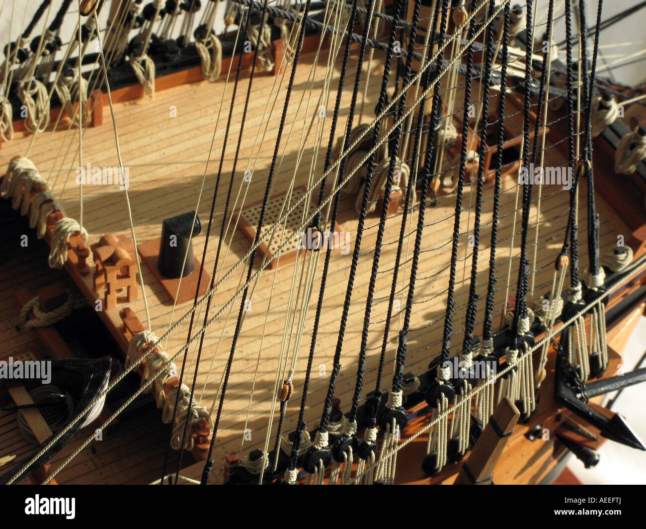 Agamemnon, 64 gun ship of 1794, Nelson's favourite ship of the line Stock Photo