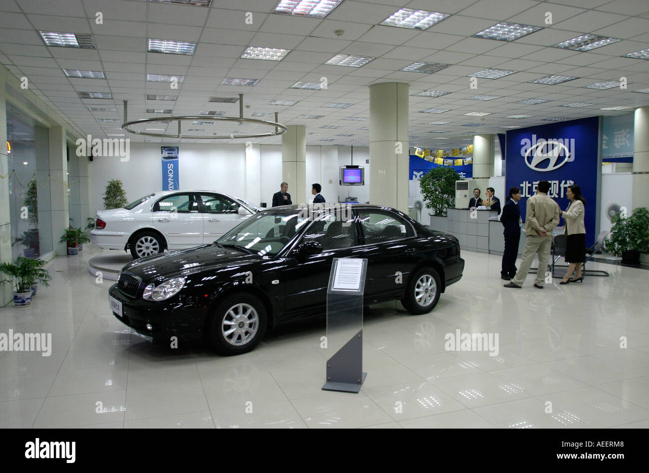 Hyundai Car Stock Photos Hyundai Car Stock Images Alamy - Hyundai car show