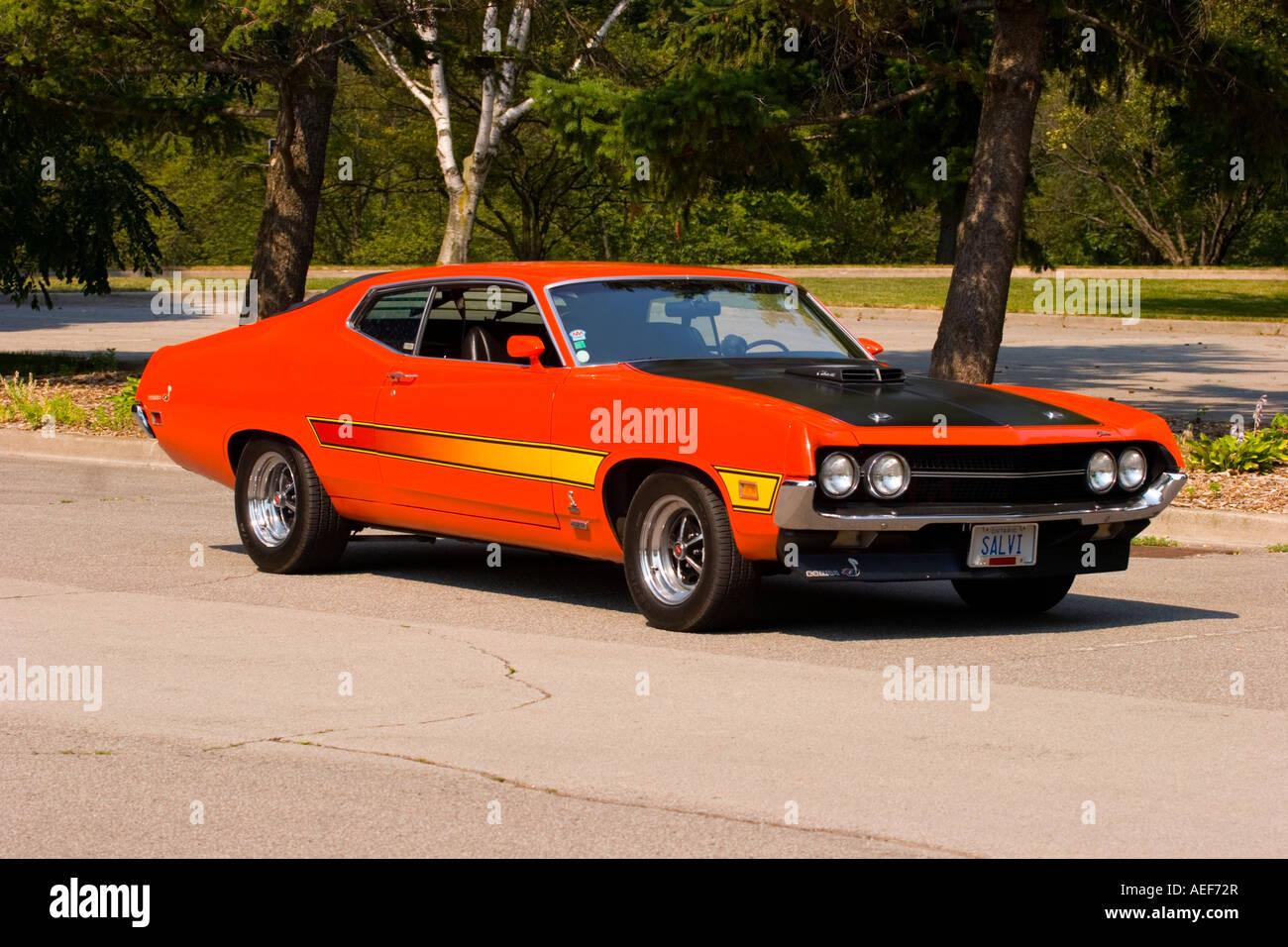 1970 Ford Torino Cobra Stock Photo: 13665934 - Alamy