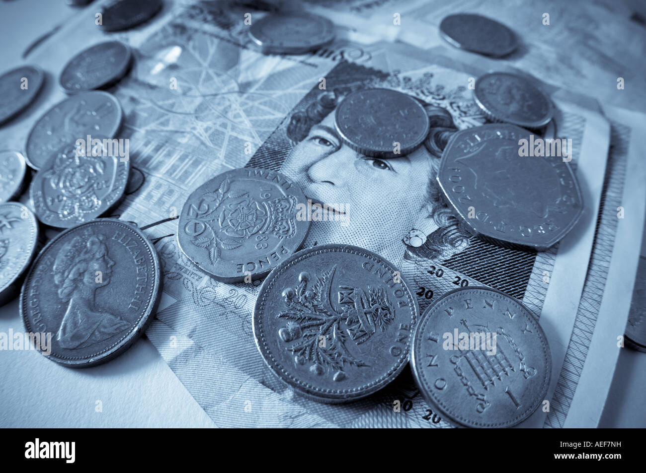 cold cash - Stock Image