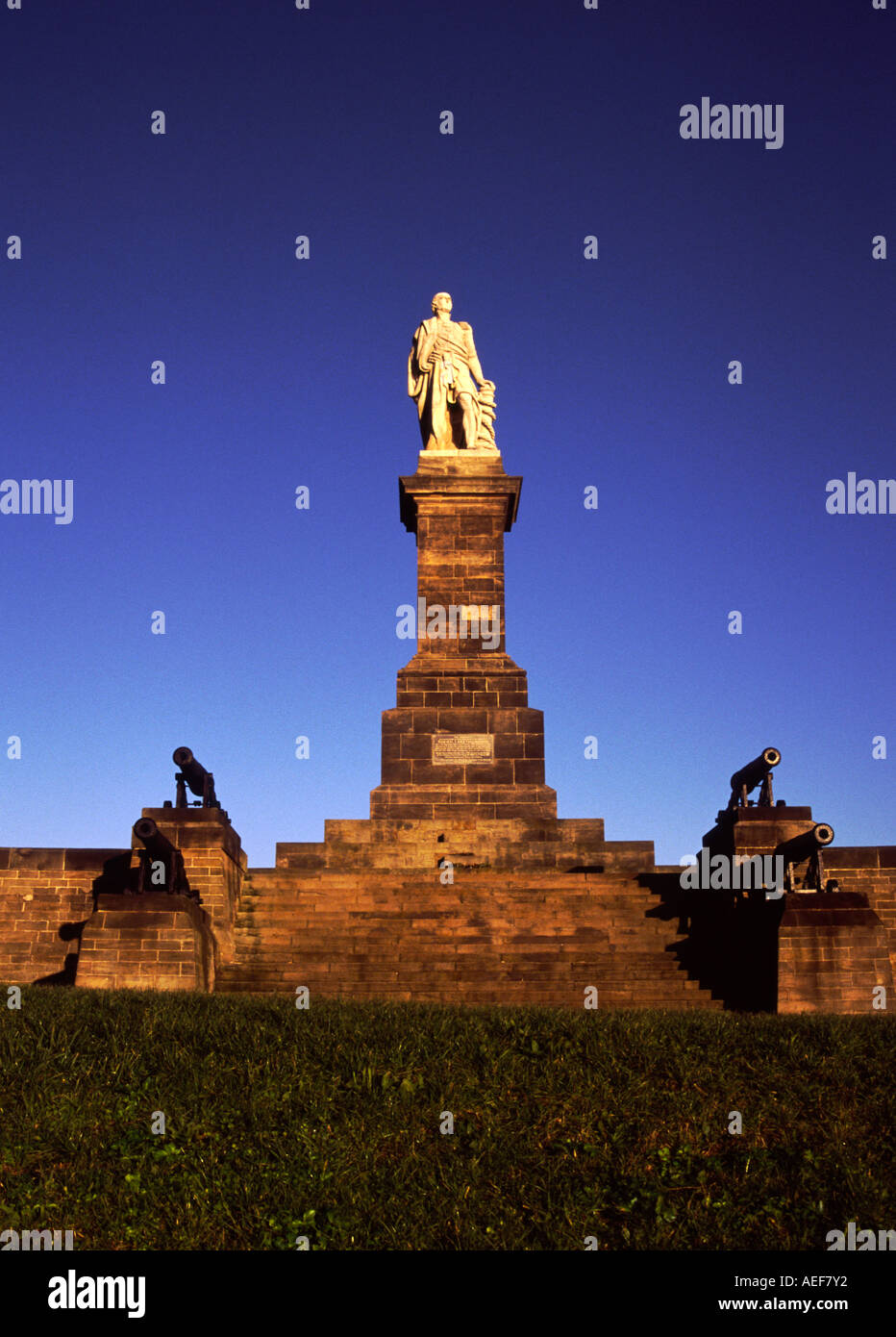 Lord collingwood Statue Stock Photo