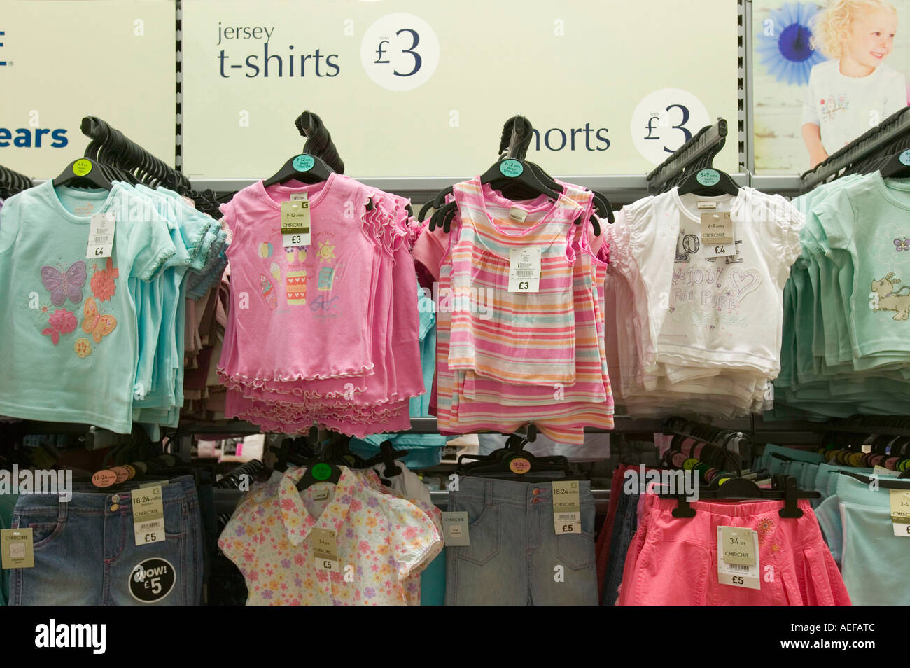 f68c3961fa73 Own Brand Clothes In Tesco Stock Photos & Own Brand Clothes In Tesco ...