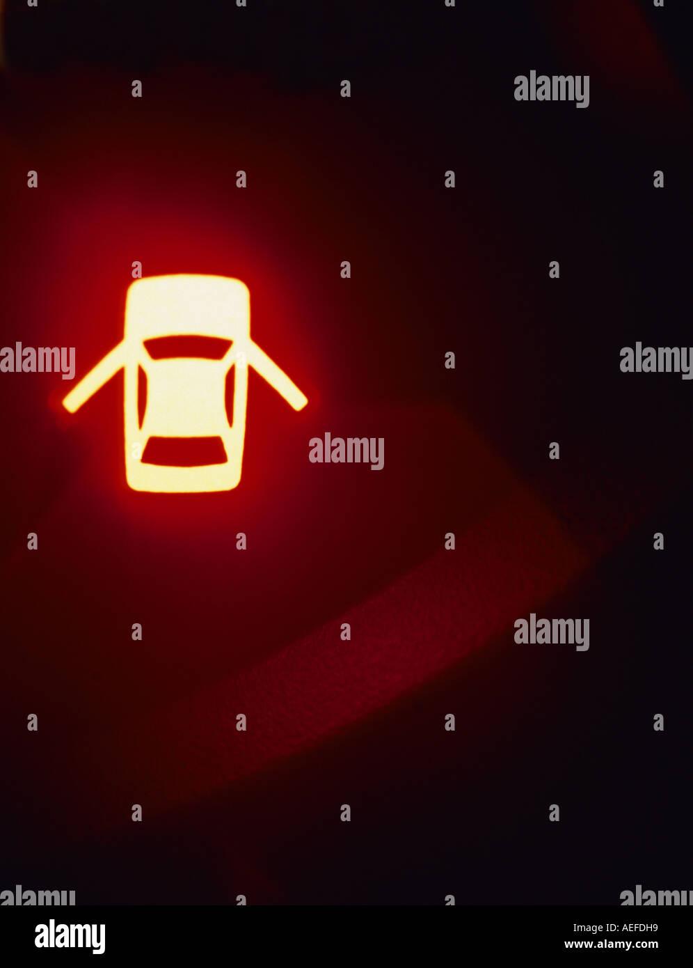 Oil Warning Light Stock Photos Oil Warning Light Stock Images Alamy