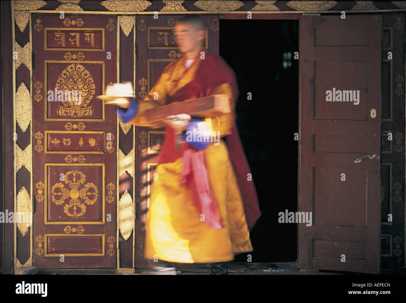 Gandan Khiid Monastery Ulaan Baatar Mongolia - Stock Image
