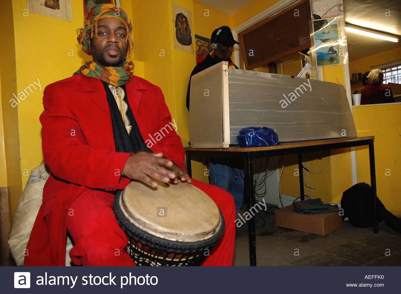 Rastafarian Man In West London Stock Photos & Rastafarian