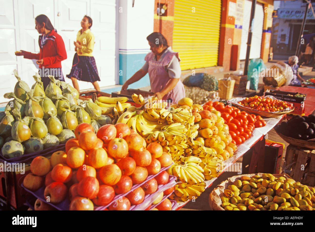 108419f2b2 fruit is sold in the mercado in Zaachila Oaxaca Mexico Stock Photo ...