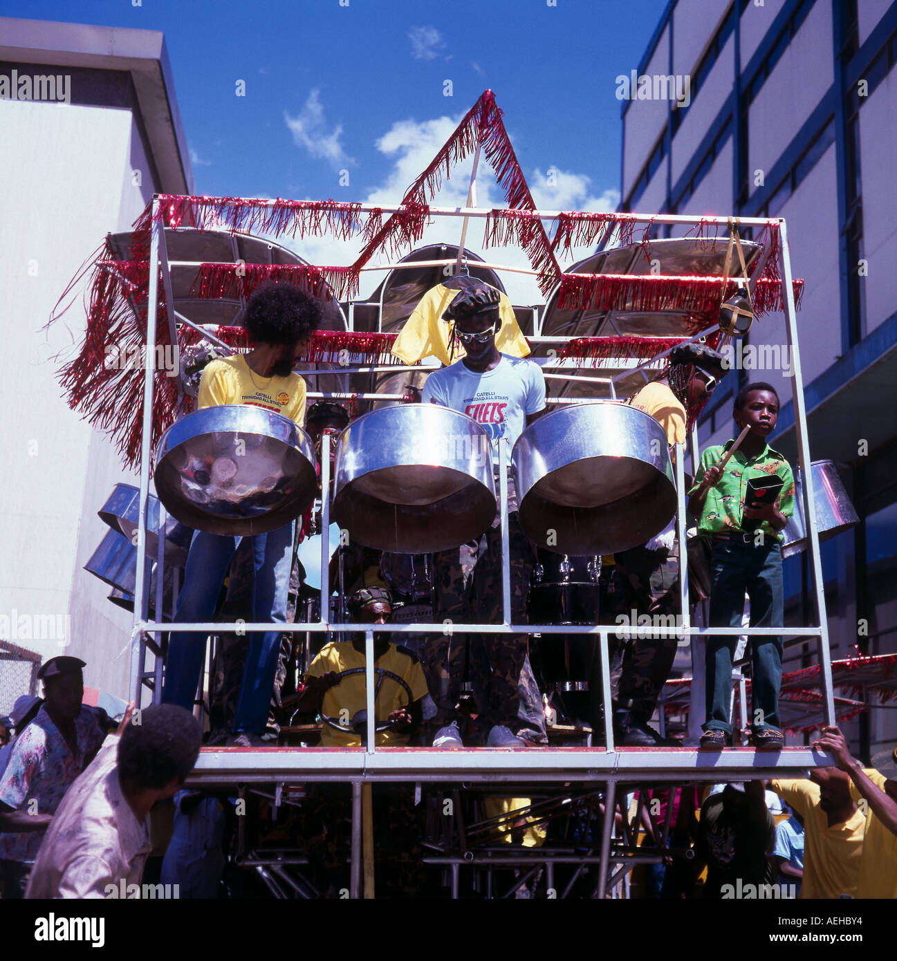 of steel trinidad music steelbands delos bands pan woman tobago recording