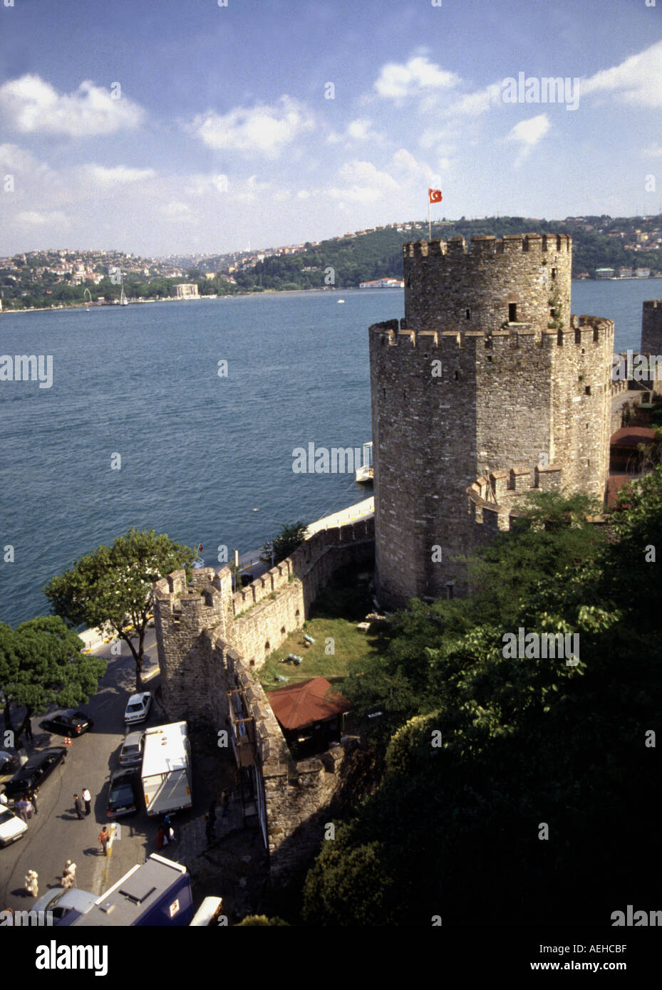 Bosphorus Rumeli hisari /istanbul Stock Photo