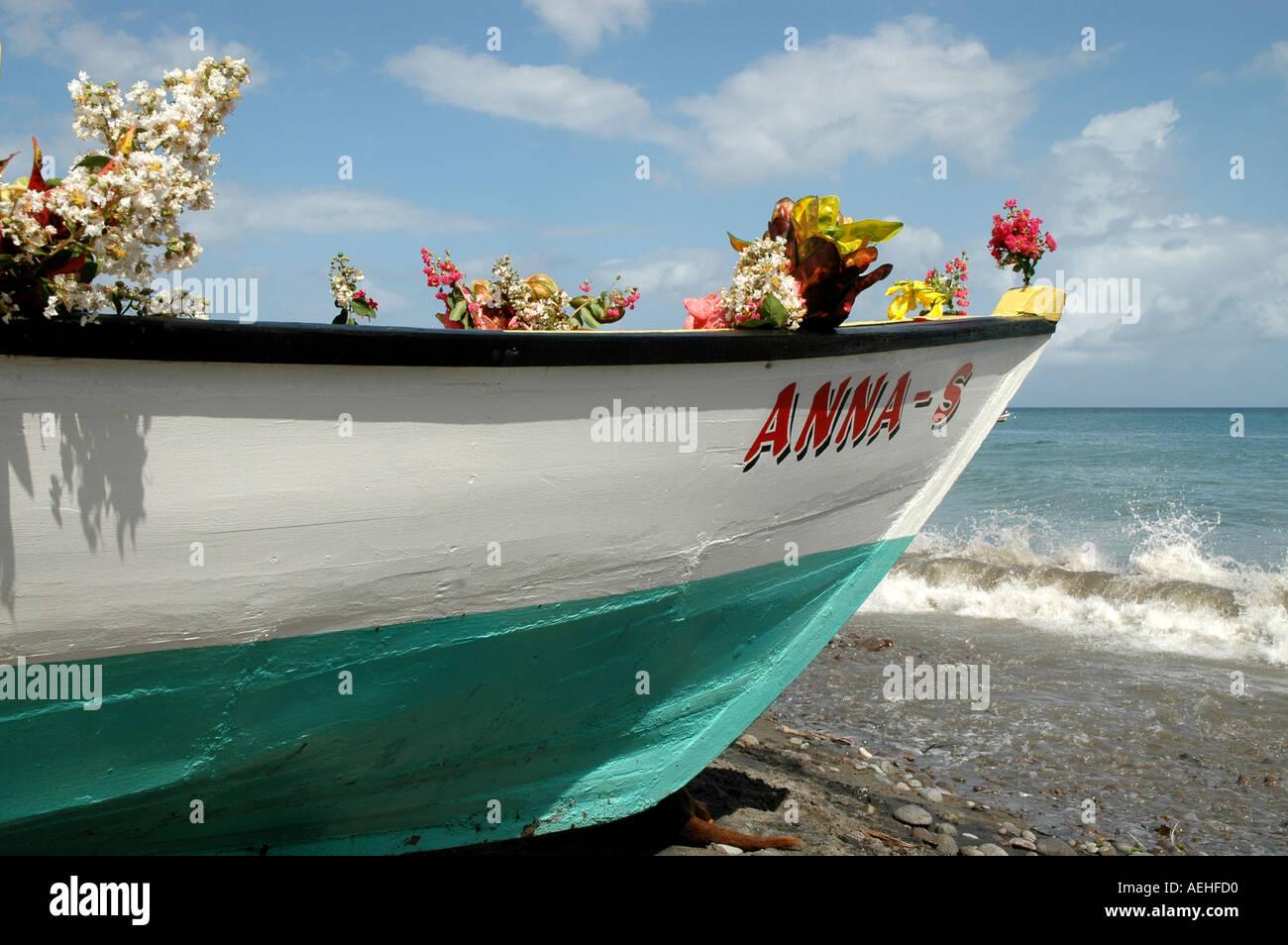 Grenada Fishermans Birthday Annual June Religious Celebration Stock